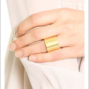 Madewell Gold Cigar Band Ring